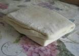 Слоеное бездрожжевое тесто без яиц