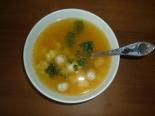 Суп с фрикадельками и кабачком для ребенка 1,5 года