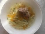 Суп с курицей и вермишелью без зажарки в мультиварке
