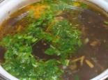 Суп с сухими грибами и картофелем