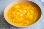 Суп с жареной вермишелью без мяса