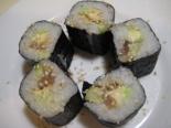 Суши со скумбрией