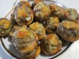 Сушки с фаршем и сыром запеченные в духовке