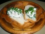 """Сыр """"Филадельфия"""" из замороженного кефира с зеленью и чесноком"""