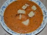 Томатный суп-пюре из свежих помидоров