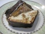 """Торт """"Домик"""" из печенья и творога с изюмом"""
