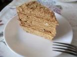 """Торт """"Медовик"""" с заварным сметанным кремом"""