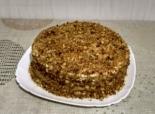 """Торт """"Медовик"""" со сметанным кремом"""