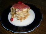 """Торт """"Наполеон"""" из печенья """"Ушки"""" без выпечки"""
