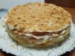 """Торт """"Наполеон"""" на маргарине с заварным кремом"""