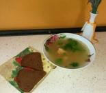 Царский рыбный суп с семгой