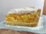 Цитрусовый пирог с меренгой