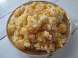 Тыквенная каша с пшеном и рисом на молоке