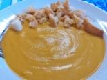 Тыквенный суп-пюре из запеченных овощей