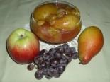 Варенье ассорти из яблок, груш и винограда