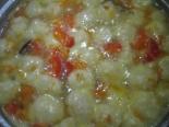 Вкусный овощной суп с сырными шариками