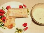 Закусочные рулеты из лаваша с колбасой и плавленым сыром