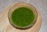 Зеленое масло из кинзы