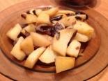 Жареная картошка с грибами (опята)