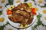 Жареная курица на сковороде