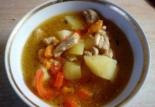 Жаркое из свинины с овощами в горшочках