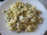 Зимний салат с солеными огурцами и картофелем без майонеза