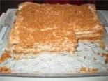 """Торт """"Наполеон"""" самый простой и быстрый рецепт со сгущенкой"""