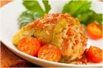 Калорийность перца фаршированного рисом и овощами