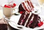 """Калорийность торта """"Черный лес"""" в 1 куске"""