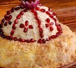 Новогодний салат Шапка Мономаха
