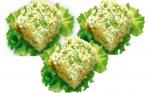 Новогодний рецепт салата мимоза