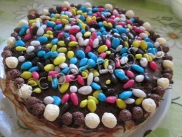 Торт из блинов с кремом и вареньем - рецепт пошаговый с фото