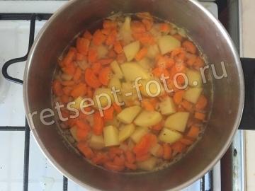 Пюре из картофеля и моркови для детей от 1 года - рецепт пошаговый с фото