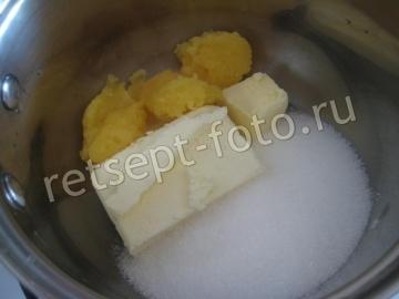 Медовик на сковороде без раскатки