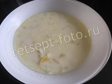 Молочный суп с вермишелью для детей 1,5 года