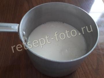 Овсяно-манная каша на молоке для детей - рецепт пошаговый с фото