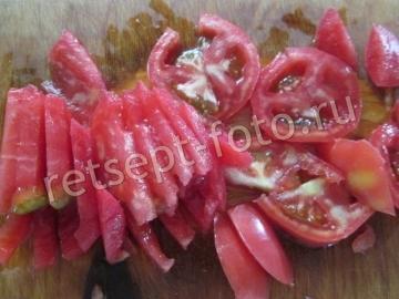Кабачковая пицца с колбасой и помидорами в духовке - рецепт пошаговый с фото