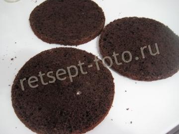 Шоколадный торт с ореховым кремом - рецепт пошаговый с фото