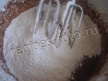 Шоколадные кексы с орехами - рецепт пошаговый с фото