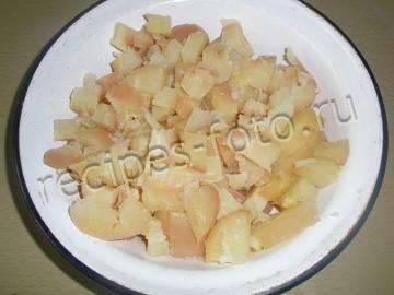 Винегрет с квашеной капустой без фасоли - рецепт пошаговый с фото